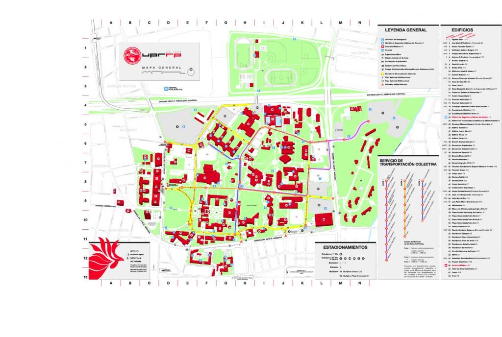Mapa UPRRP 2012