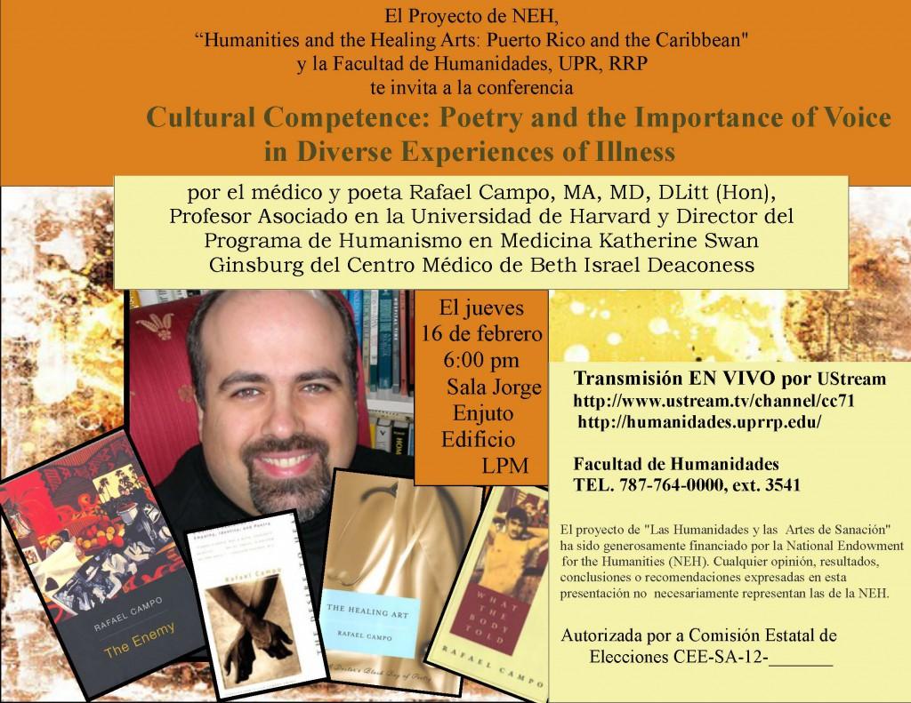 Rafael Campo-conference