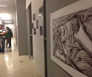 Obras en el los pasillos