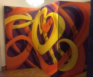 Exposición: Cierre Mural: Entre líneas, de Edel Galay