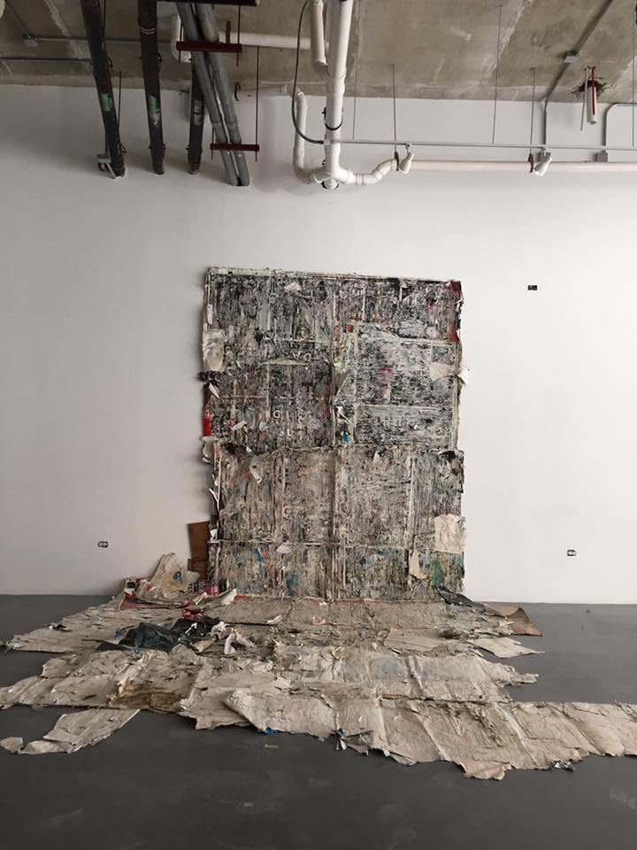 Exposición: Simulacro Construcción Sin título, de Thomás Gonzáles